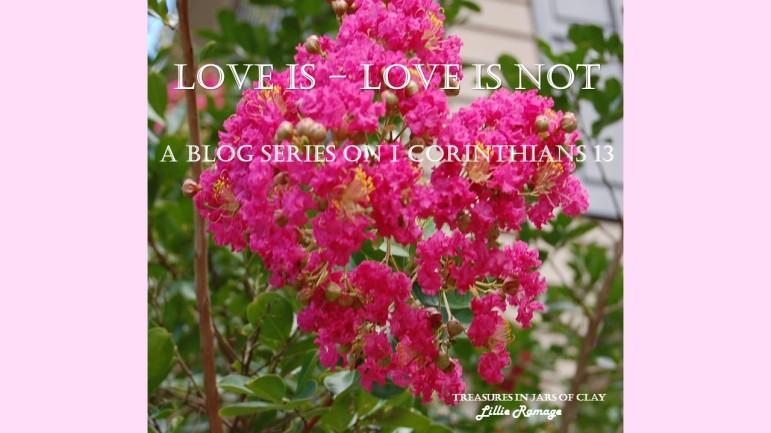 LOVE IS – LOVE IS NOT